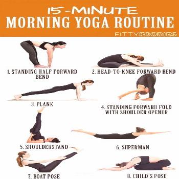 15 Minute Morning Yoga Routine To Wake You Up