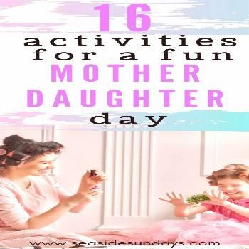 16 Perfect Mother Daughter Day Ideas For Little Girls Here are great activities for a fun mother da