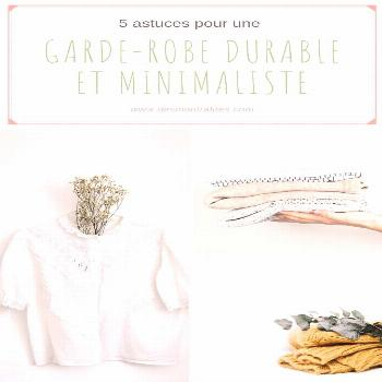 5 tips for a minimalist and durable wardrobe in Montreal - Wondering how to get a minimalist and ec