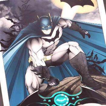 Batman! ?Available as a pair with Ivy ? A limited quantity of this print will be available so