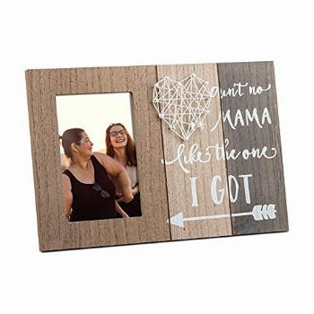 CISYINO Mommy Photo Frame 4×6,Mixed Colors Wooden Mother