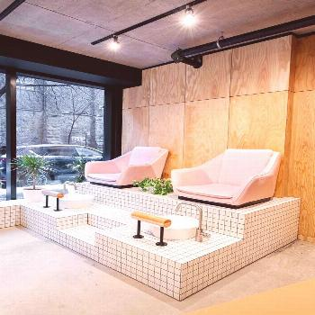 Designers' makeover of Montreal beauty refuge is as on-trend and stylish as any of the looks coming
