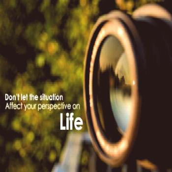 Don't let the toughness of the moment affect your perspective on life :) (at...