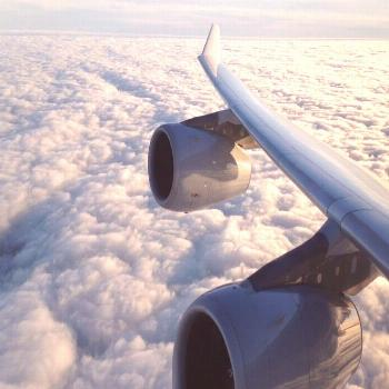 Epic CFM56 Engine Sound on Lufthansa Airbus A340-300 Take-off with Stunning Views