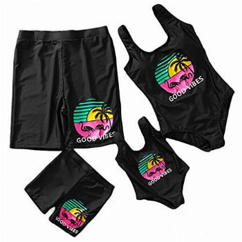 IFFEI Mommy and Me Matching Swimwear One Piece Mother