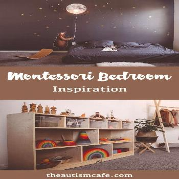 Inspiration to create the perfect Montessori bedroom for your toddler. Montessori shelves, floor be