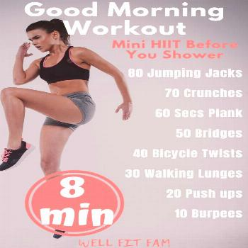 Looking for a morning workout but don't have the time? These 11 workouts to lose weight will show y