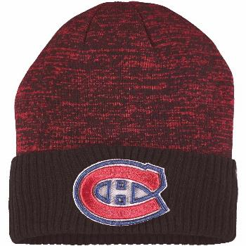 Men's Fanatics Branded Red Montreal Canadiens Space Dye Cuffed Knit Hat