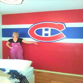 MLB   montreal canadiens room, montreal canadiens cake, montreal canadiens man cave, montreal canad