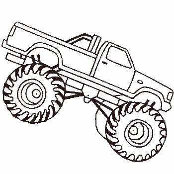 Monster Trucks Coloring Pages Printable Monster Trucks Coloring Pages Printable