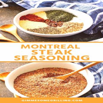 Montreal Steak Seasoning -The BEST! - Gimme Some Grilling ®#gimme