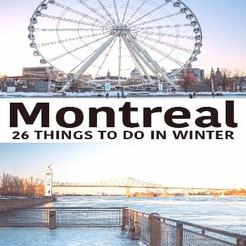 Montreal Winter Things to do in Montreal in Winter: festivals, food, outdoor activities, cozy spas,