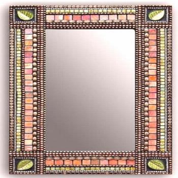 Rectangle Mosaic Mirror. Shop now in our online boutique for this and other rectangular Mirrors at