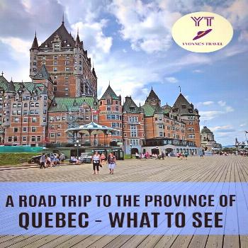 Road Trip to the Province of Quebec | What to See | Yvonne's Travel Blog How about a road trip to t