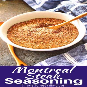 This homemade Montreal Steak Seasoning is the perfect way to season your steaks and potatoes! The b