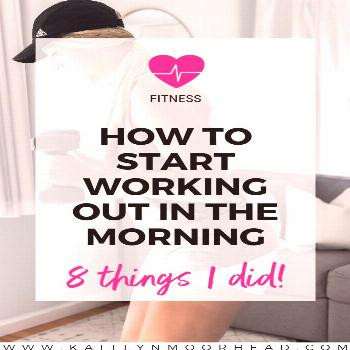 Want to work out in the morning, but don't know how to start or where to find the motivation to wak