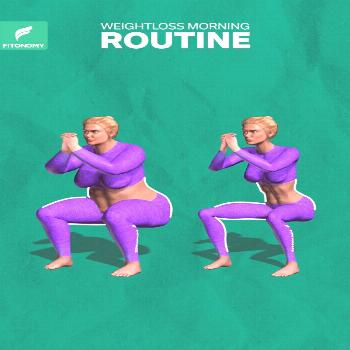 WEIGHTLOSS MORNING ROUTINE  Get up and start your day with full of energy and positive vibe. These