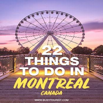 Wondering what to do in Montreal, Canada? This travel guide will show you the top attractions, best