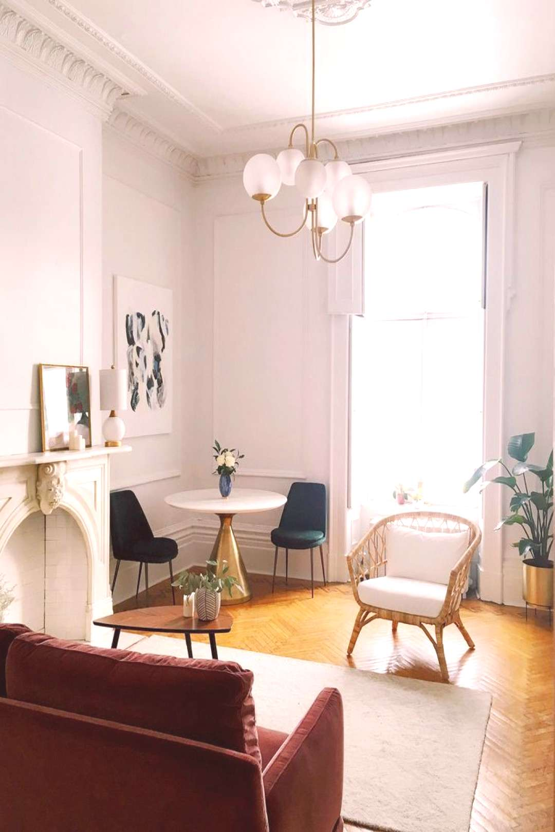 A Picture Perfect Parisian-Style Studio In Montreal - Front + Main -  -