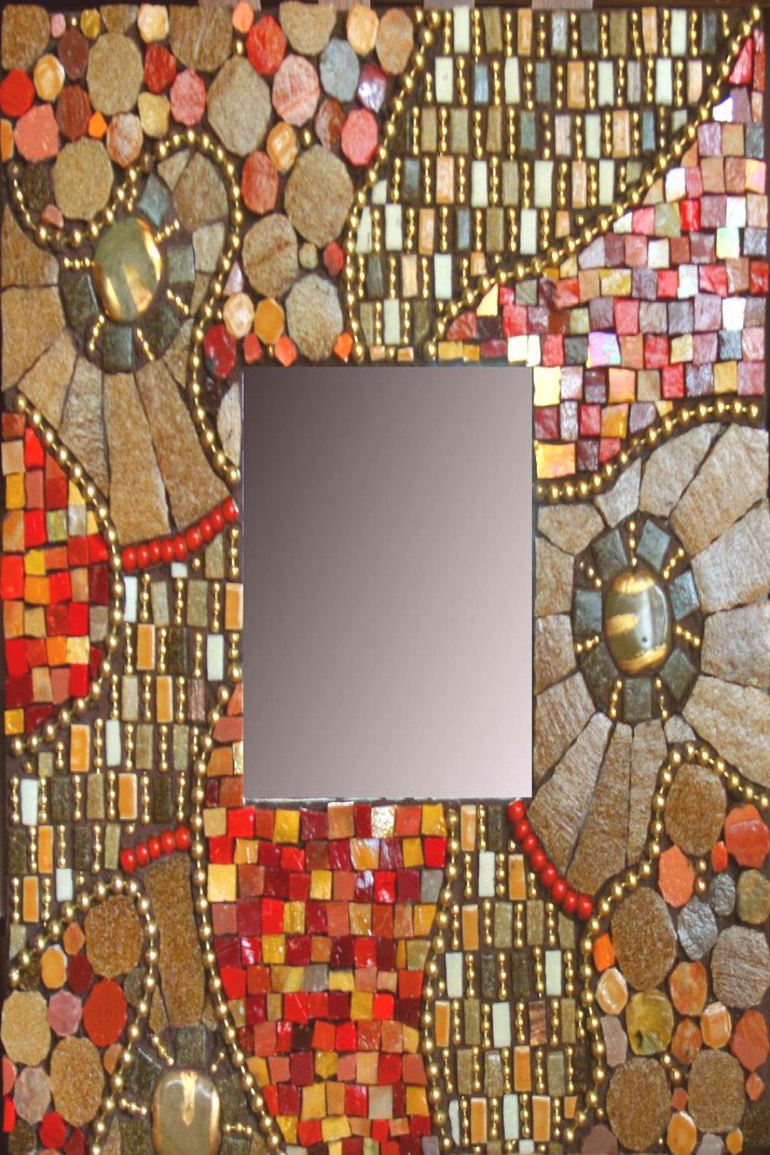 Commissioned mirror   10quotx 10quot mirror with vitreous tile, ba…   Flickr