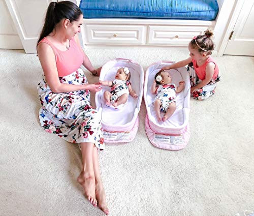 IFFEI Mommy and Me Dress Matching Outfits Floral Printed