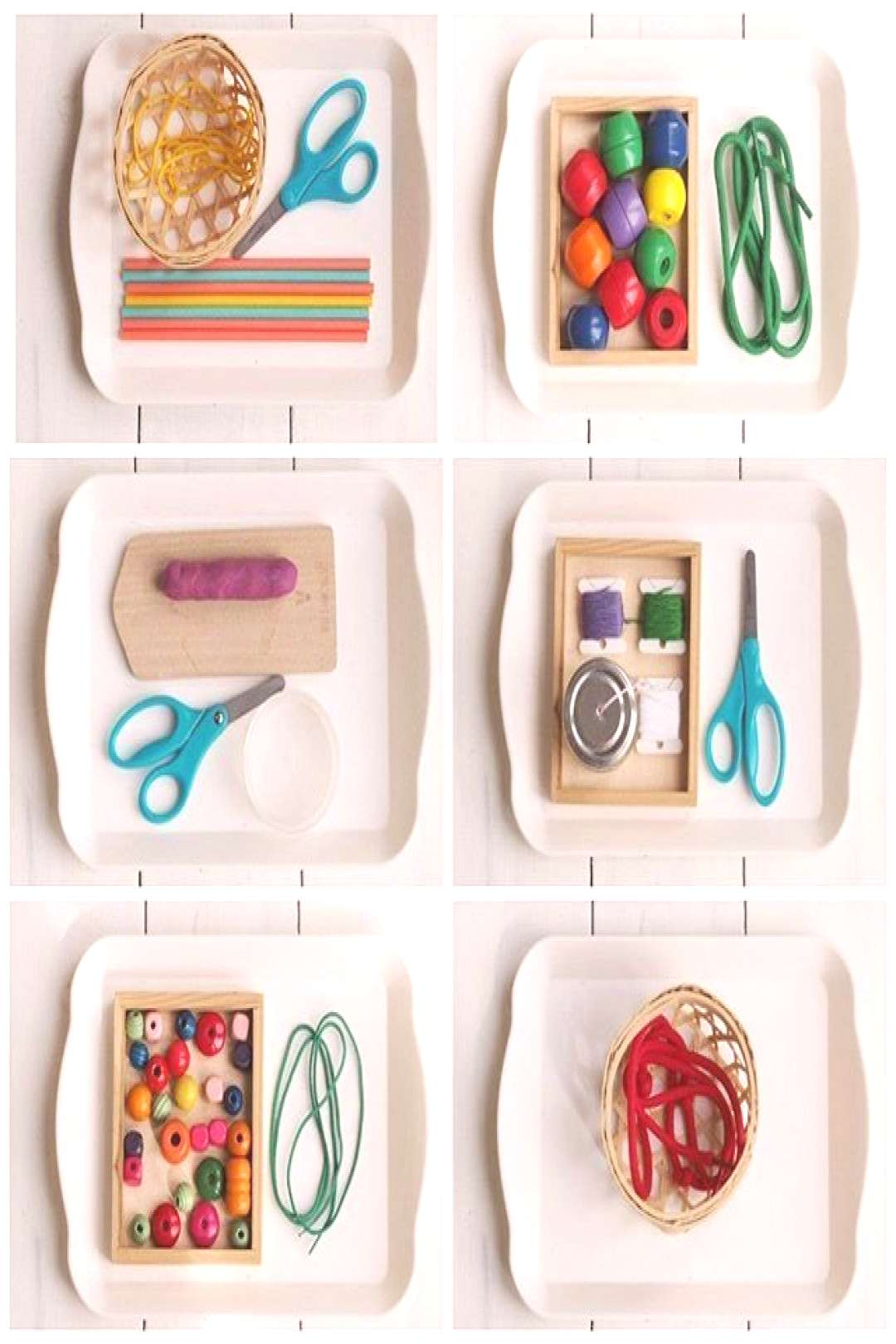 Introducing Sewing - Montessori Way ?(BLOGGED) . I always look for practical activities that are