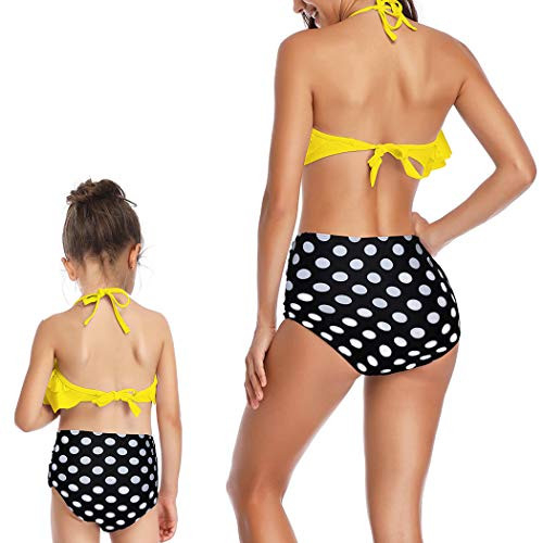 MetCuento Swimsuits for Women Two Pieces Bathing Suits High