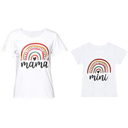 Mommy and Me Matching Shirts for Girls Boys Mother Daughter
