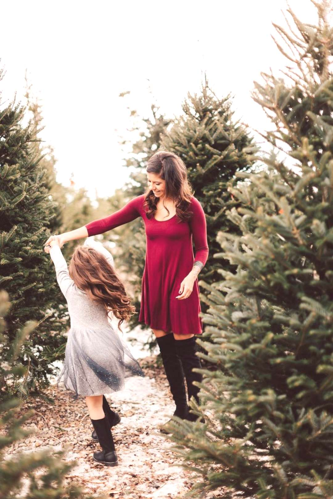 Mother Daughter Photography Winter Family Photos Mother daughter photography winter mutter tochte