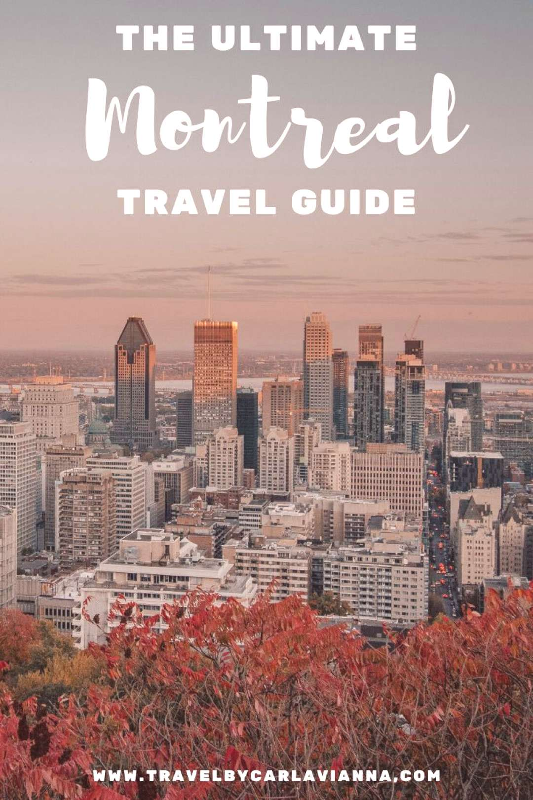 The Ultimate Montreal Travel Guide Planning a trip to Montreal, Canada? Here is all the inspiration